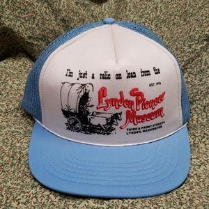 Vintage Pioneer Museum Trucker Hat Snapback OS